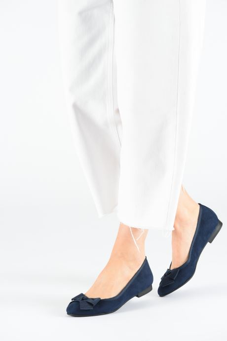 Ballet pumps Marco Tozzi Nellya Blue view from underneath / model view