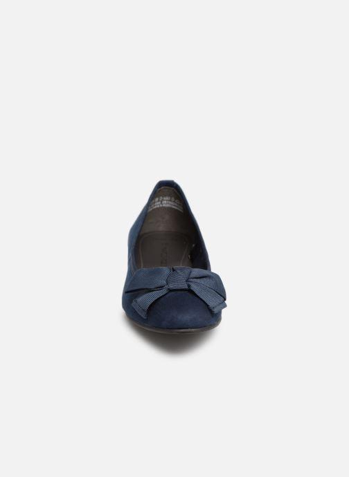 Ballerines Marco Tozzi Nellya Bleu vue portées chaussures
