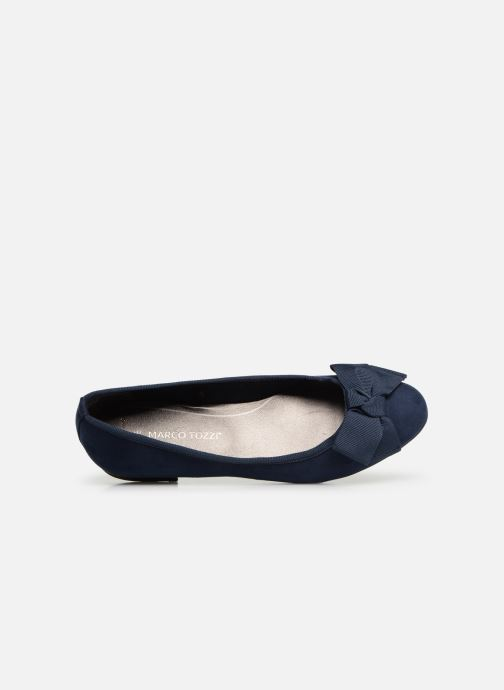 Ballet pumps Marco Tozzi Nellya Blue view from the left