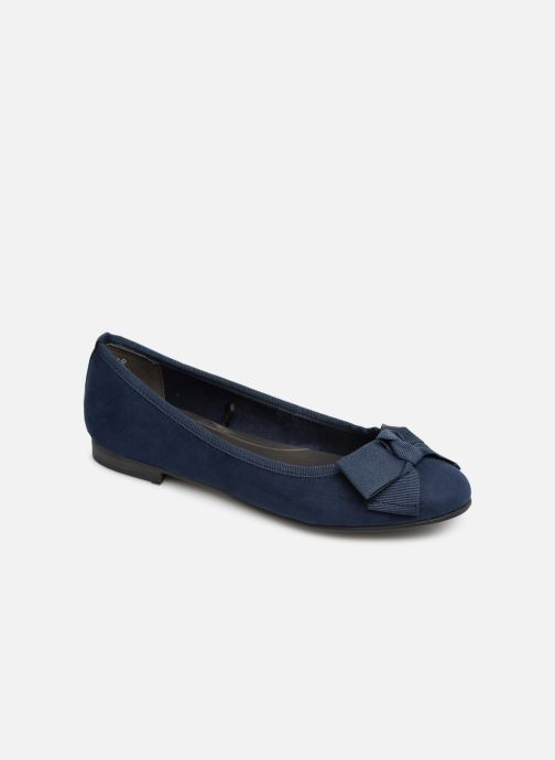 Ballet pumps Marco Tozzi Nellya Blue detailed view/ Pair view