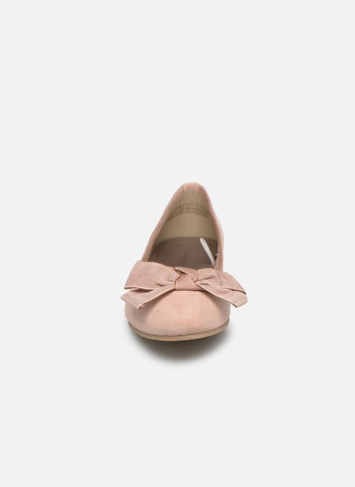 Ballerines Marco Tozzi Nellya Rose vue portées chaussures