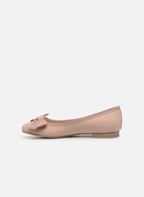 Ballet pumps Marco Tozzi Nellya Pink front view