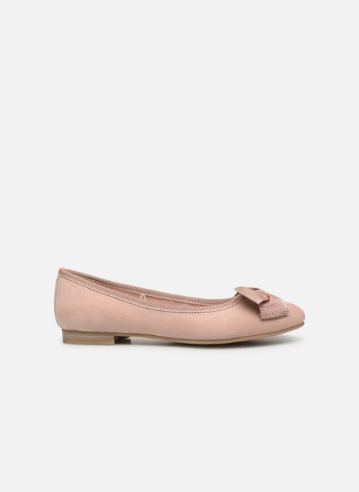 Ballet pumps Marco Tozzi Nellya Pink back view