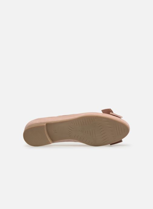Ballet pumps Marco Tozzi Nellya Pink view from above