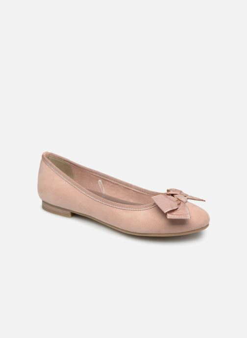Ballet pumps Marco Tozzi Nellya Pink detailed view/ Pair view