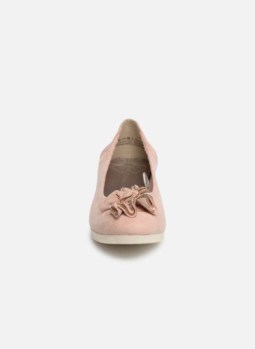 Ballerines Marco Tozzi Ewen Rose vue portées chaussures