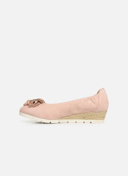 Ballet pumps Marco Tozzi Ewen Pink front view