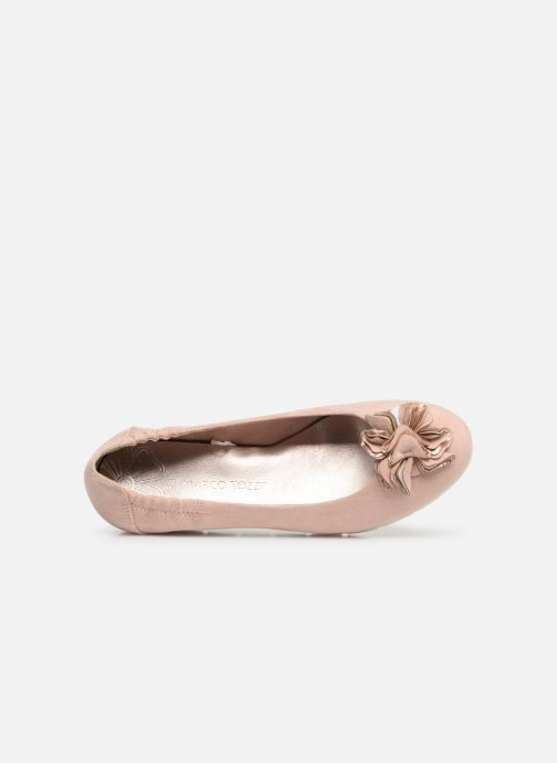 Ballet pumps Marco Tozzi Ewen Pink view from the left