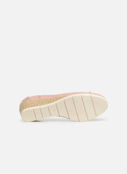 Ballet pumps Marco Tozzi Ewen Pink view from above