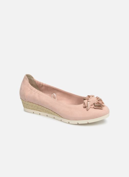 Ballet pumps Marco Tozzi Ewen Pink detailed view/ Pair view