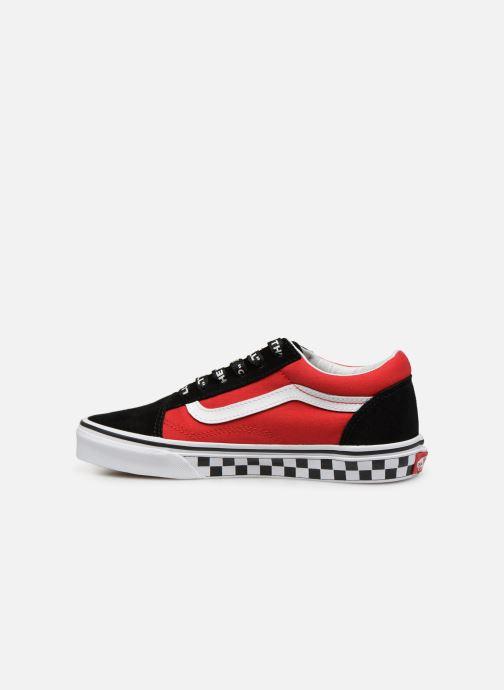 Vans Old Skool rouge et noire junior Chaussures Prix
