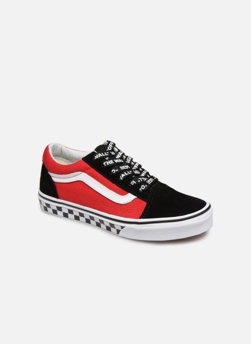 d0bb3800e84bc2 Sneaker Vans Old Skool K rot detaillierte ansicht modell