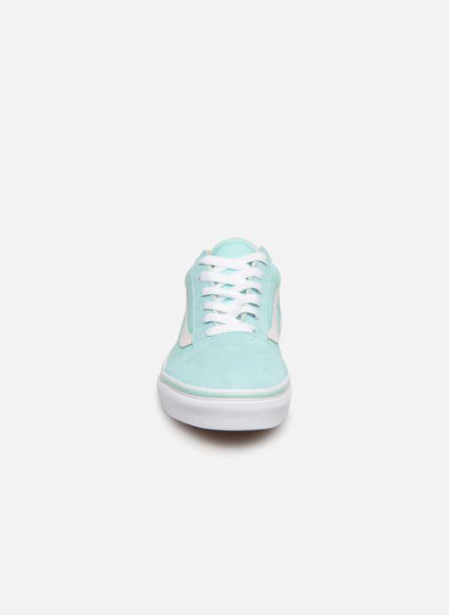Sneaker Vans Old Skool K blau schuhe getragen