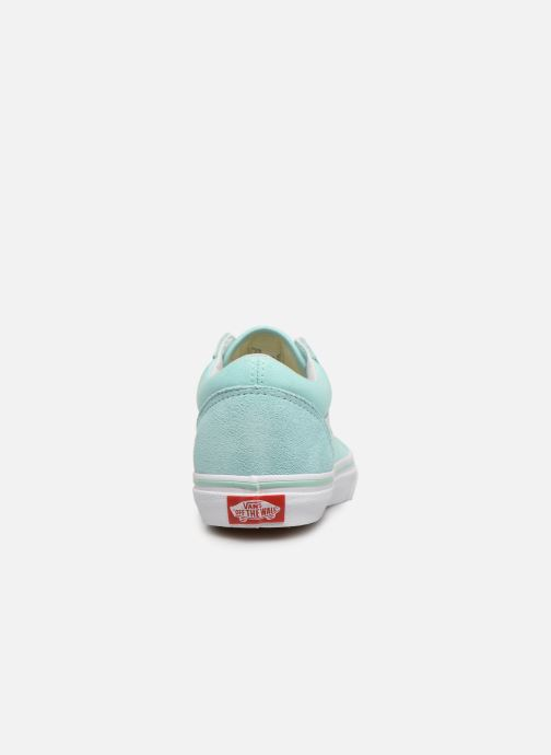 Trainers Vans Old Skool K Blue view from the right