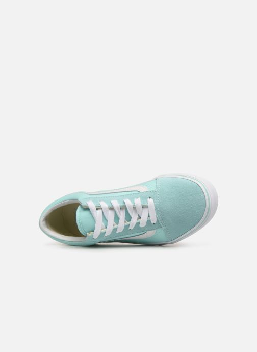 Trainers Vans Old Skool K Blue view from the left