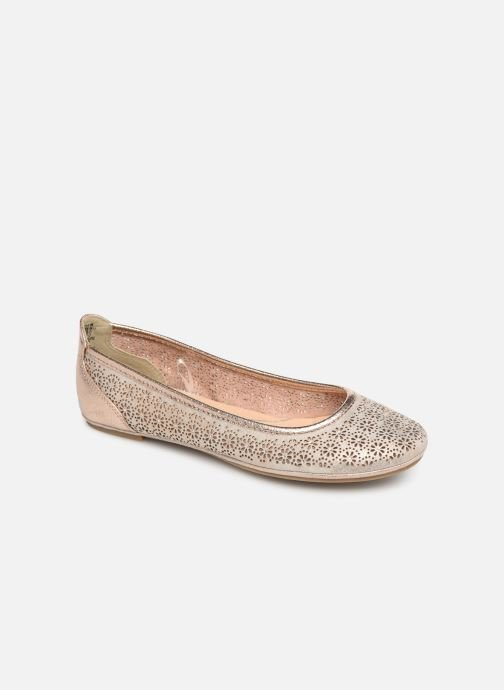 Ballet pumps Marco Tozzi Beya Pink detailed view/ Pair view