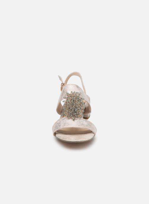 Sandales et nu-pieds Marco Tozzi Elya Gris vue portées chaussures