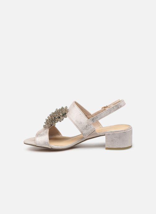Sandales et nu-pieds Marco Tozzi Elya Gris vue face