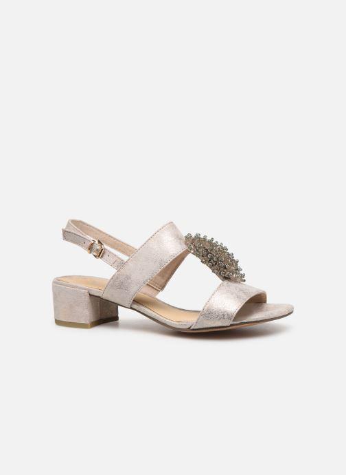 Sandales et nu-pieds Marco Tozzi Elya Gris vue derrière