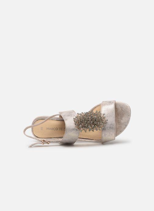 Sandales et nu-pieds Marco Tozzi Elya Gris vue gauche