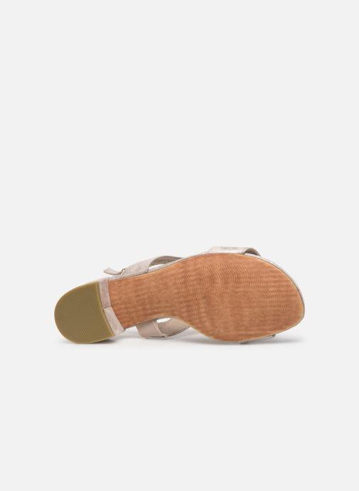 Sandales et nu-pieds Marco Tozzi Elya Gris vue haut