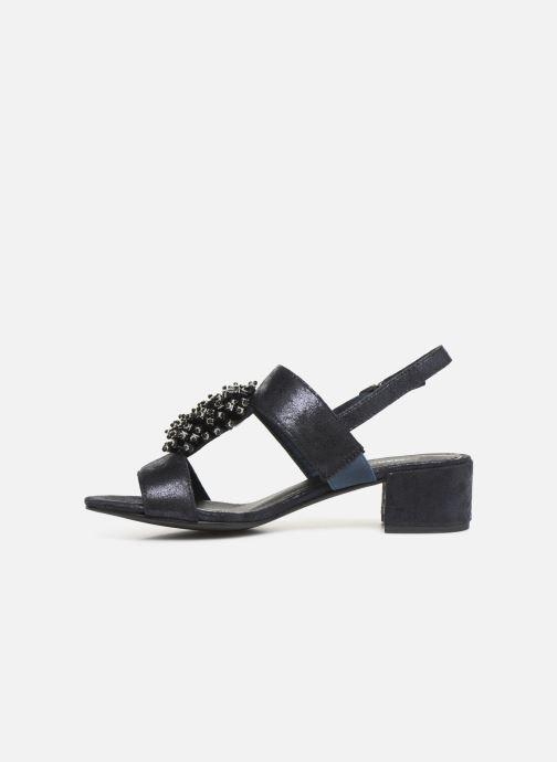 Sandali e scarpe aperte Marco Tozzi Elya Azzurro immagine frontale