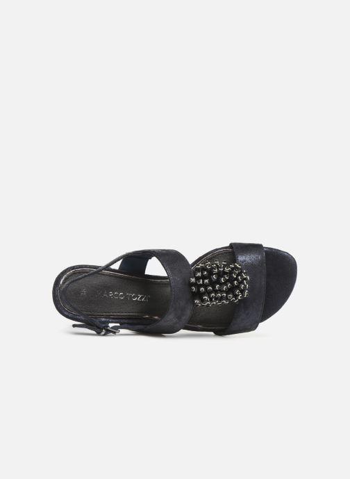 Sandali e scarpe aperte Marco Tozzi Elya Azzurro immagine sinistra