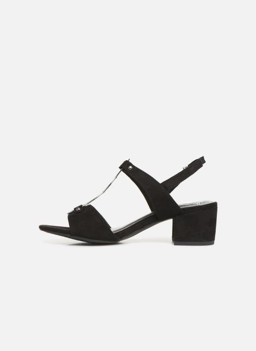 Sandales et nu-pieds Marco Tozzi Kaila Noir vue face