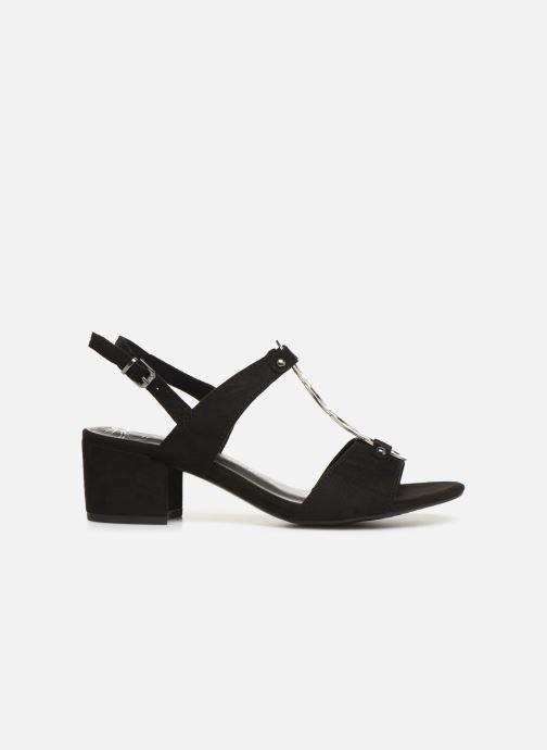 Sandales et nu-pieds Marco Tozzi Kaila Noir vue derrière