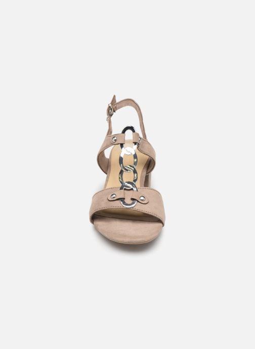 Sandales et nu-pieds Marco Tozzi Kaila Gris vue portées chaussures