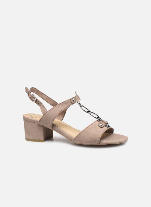 Sandales et nu-pieds Marco Tozzi Kaila Gris vue derrière