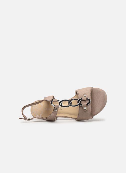 Sandales et nu-pieds Marco Tozzi Kaila Gris vue gauche