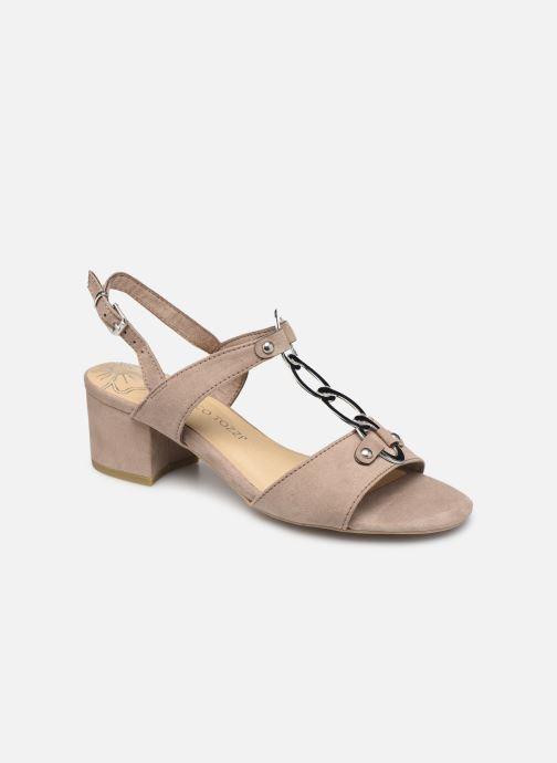 Sandales et nu-pieds Marco Tozzi Kaila Gris vue détail/paire
