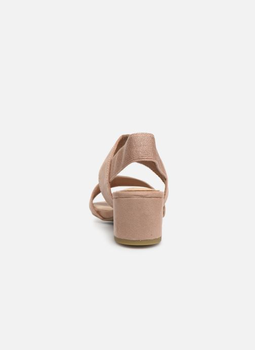 Sandali e scarpe aperte Marco Tozzi Elicia Rosa immagine destra
