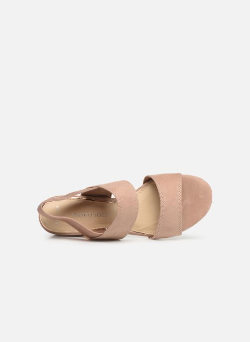 Sandali e scarpe aperte Marco Tozzi Elicia Rosa immagine sinistra
