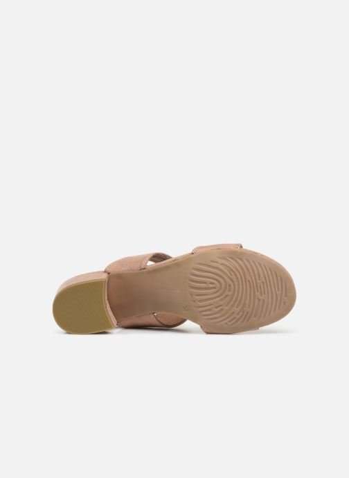 Sandali e scarpe aperte Marco Tozzi Elicia Rosa immagine dall'alto