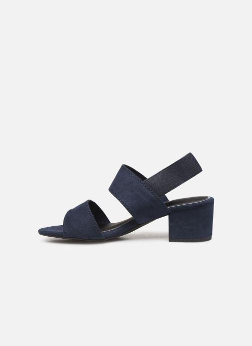 Sandales et nu-pieds Marco Tozzi Elicia Bleu vue face
