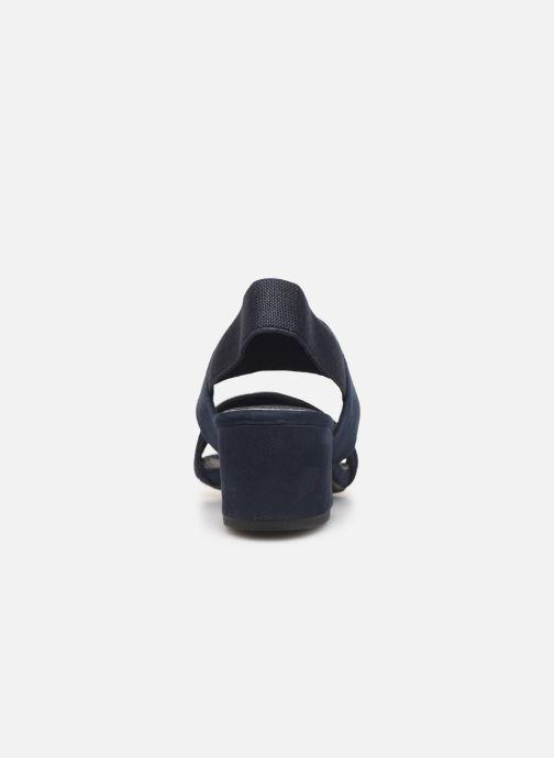 Sandaler Marco Tozzi Elicia Blå Se fra højre