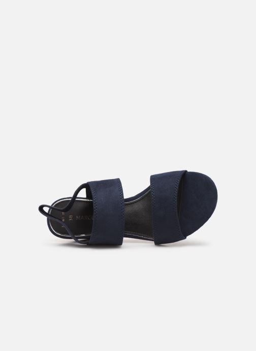Sandales et nu-pieds Marco Tozzi Elicia Bleu vue gauche