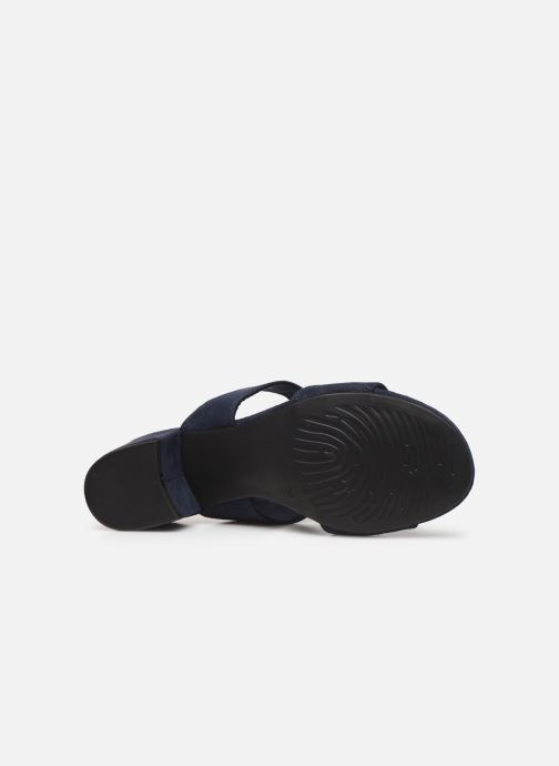 Sandales et nu-pieds Marco Tozzi Elicia Bleu vue haut