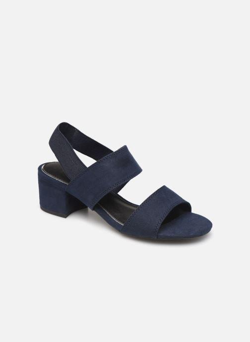 Sandaler Marco Tozzi Elicia Blå detaljeret billede af skoene