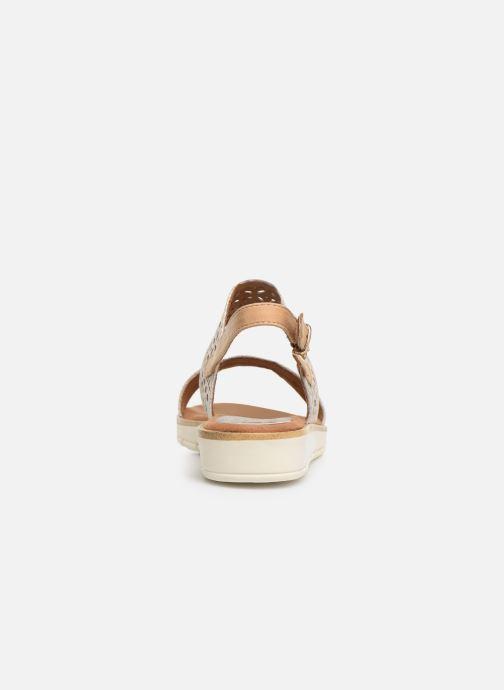 Sandales et nu-pieds Marco Tozzi Leolia Gris vue droite