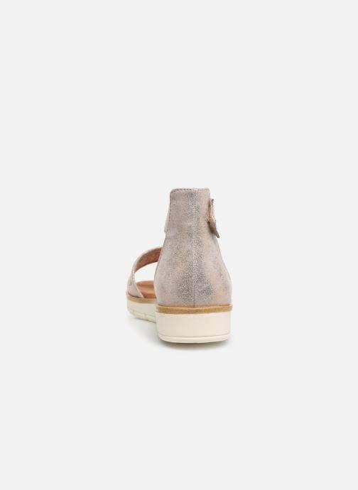 Sandali e scarpe aperte Marco Tozzi Sueli Rosa immagine destra