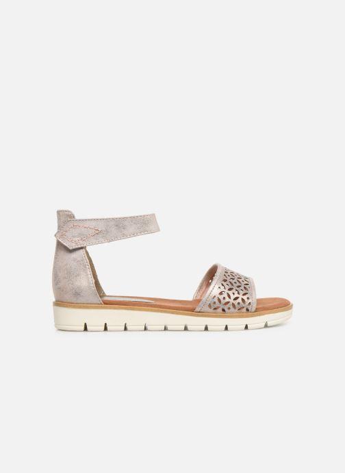 Sandales et nu-pieds Marco Tozzi Sueli Rose vue derrière