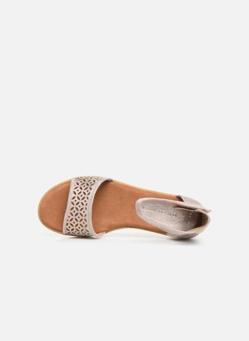 Sandali e scarpe aperte Marco Tozzi Sueli Rosa immagine sinistra