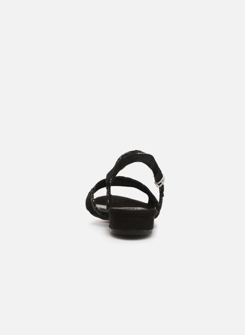 Sandales et nu-pieds Marco Tozzi Leyla Noir vue droite