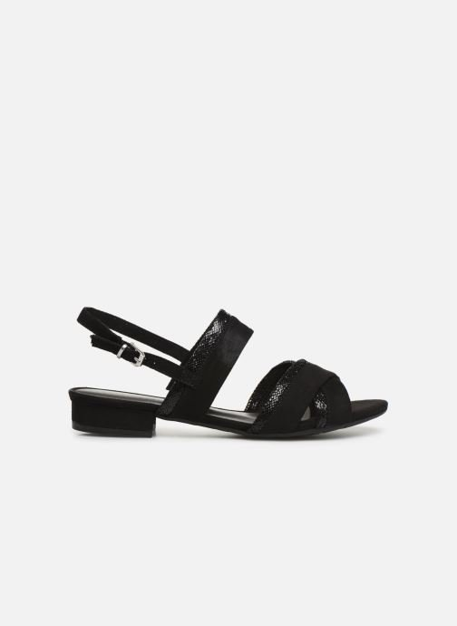 Sandales et nu-pieds Marco Tozzi Leyla Noir vue derrière