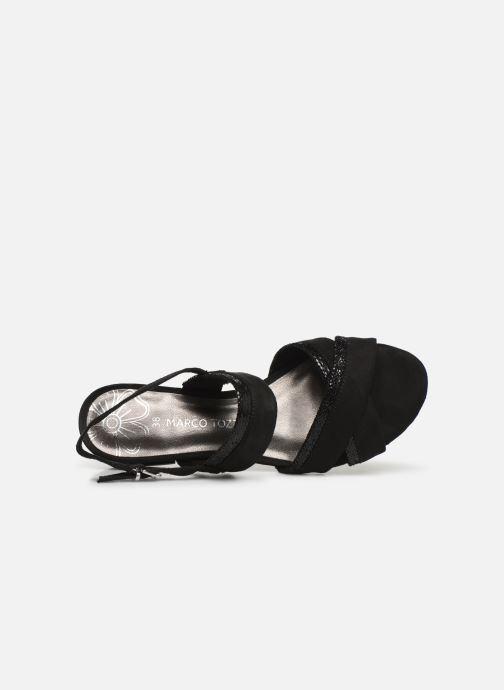 Sandales et nu-pieds Marco Tozzi Leyla Noir vue gauche