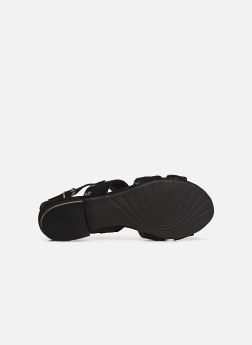Sandals Marco Tozzi Leyla Black view from above