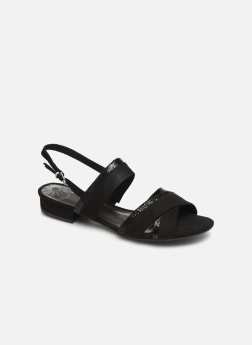 Sandals Marco Tozzi Leyla Black detailed view/ Pair view